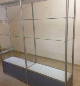 витрины с алюминиевым профилем