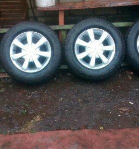 Колеса R13 4*100