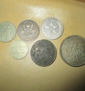 монеты всяких годов