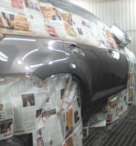 Рихтовка покраска,ремонт бамперов,полировка авто!!
