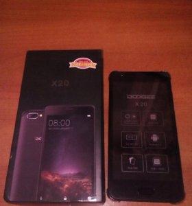 Новый телефон DOOGEE X20