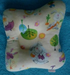 Ортопедическая подушка для детей 0+