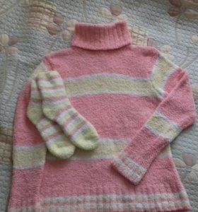 Новый свитер+носочки