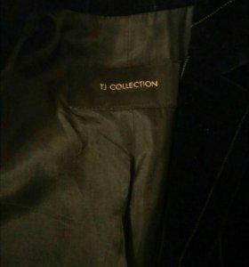 Велюровый жакет TJ Collection England