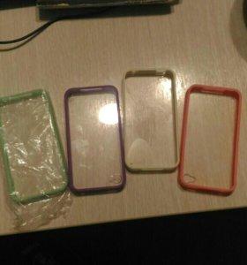 Бампера для iphone 4