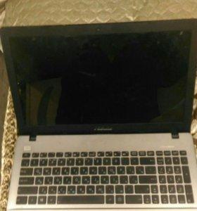 Ноутбук ASUS x550d на запчасти
