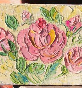 Картина (крем из роз)