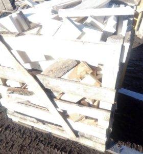 Горбыль распиленный на дрова ,с доставкой газоном!