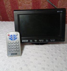 Телевизорчик для авто с пультом и инструкцией