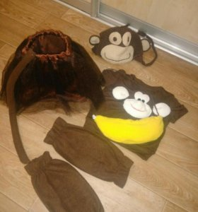 Новогодний костюм обезьянки (3 года)
