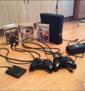 Срочно продам Xbox 360 slim Lt 3.0 + 3 игры