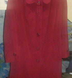 Пальто осень 54-56