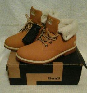 Новые ботинки р.39
