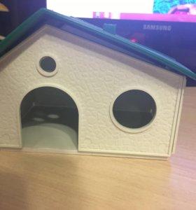 Новый домик для хомяков