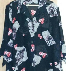 Блузка, размер 60 - 62.
