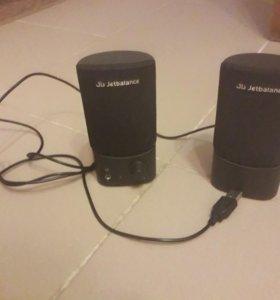 Колонки небольшие от USB