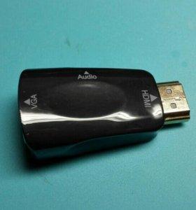 Переходник HDMI -VGA