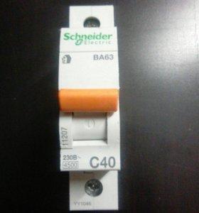 Автоматический выключатель 40 А