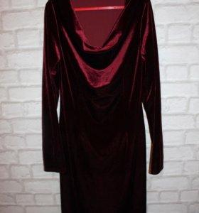 Платье под бархат