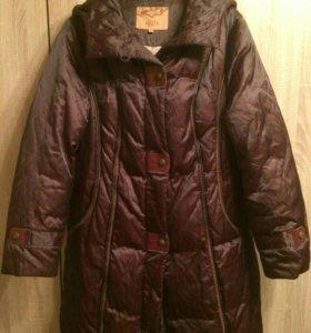 Пальто женское пуховик