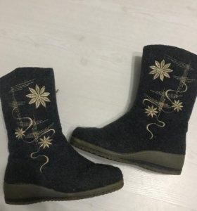 Сапоги ботинки полусапожки валенки