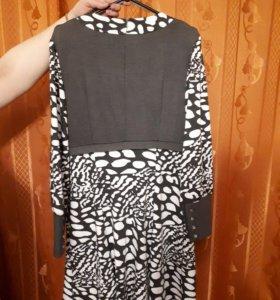 Платье трикотажное новое, размер 50