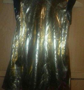 Новогоднее платье(змейка)