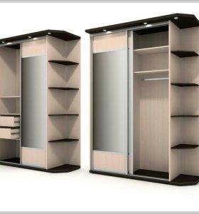 Мебель на заказ , кухни, шкафы, стенки, комоды