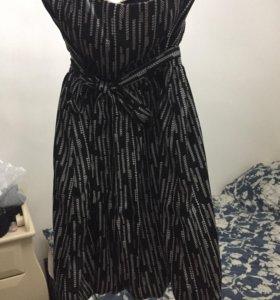 Платье без бретелек размер 42-44