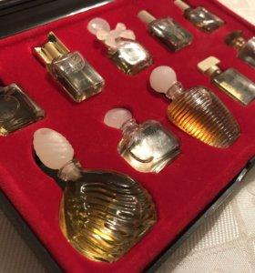 Винтажные духи набор миниатюр