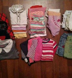 Вещи для детского сада для девочки 5-6лет