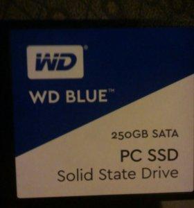 Новый ssd 250gb WD Blue