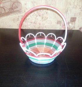 Корзина плетеная(ваза)