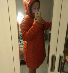 Пальто стеганое 52-54