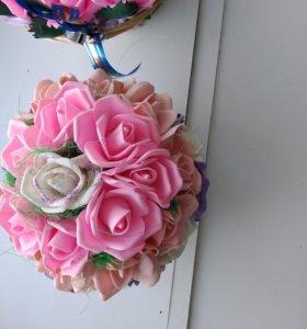Цветы из фоомирана