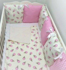 Бортики , подушки на заказ