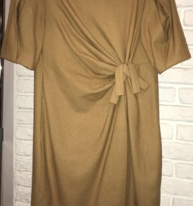 теплое оригинальное платье monica ricci