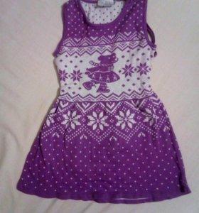 Платье 110 размера