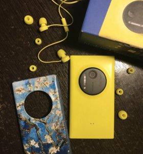 Смартфон Nokia lumia 1020 Yellow + подарок