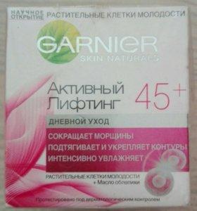 """Крем """"Garnier"""" 45+ новый"""