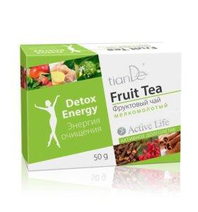Очищающий чай фруктовый
