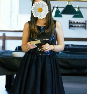 Новогоднее платье вечернее XS