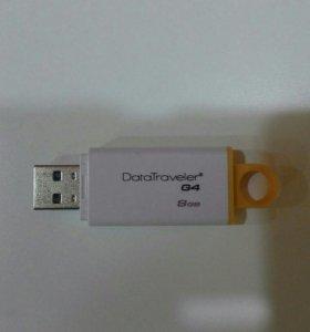 Флешка USB 3.0 Kingstone 8GB