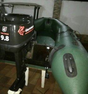 Колибри КМ-300. Мотор 9.8