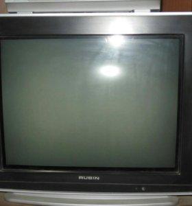 Телевизор Рубин (цветной).