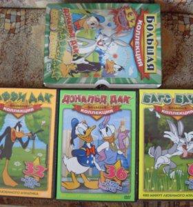 Подарочный набор 3 диска с мультфильмами