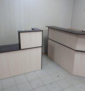 Ресепшны столы шкафы