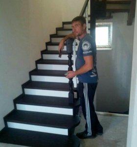 Лестницы изготовление и мантаж и тд