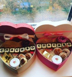 Подарки учителям коробочки
