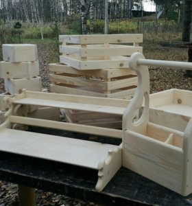 Элементы интерьера из дерева